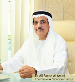 Dr Ali Saeed Al Ameri. Chairman of Al Shoumoukh Group