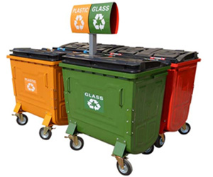 800L*4 Dustbin Container